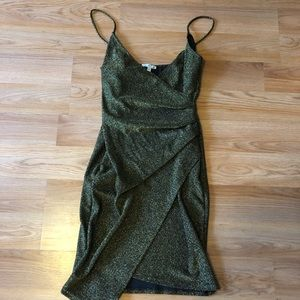 Charlotte Russe Bodycon Wrap Dress